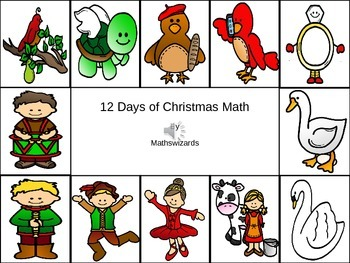 12 Days of Christmas Math
