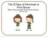 12 Days of Christmas Math, Literacy, and Art Projects