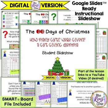 christmas math problem solving gift giving dilemma for the 12 days of christmas - How Many Gifts In 12 Days Of Christmas