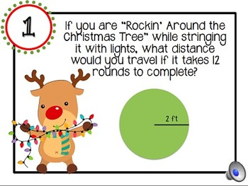 12 Days of Christmas Math Tasks