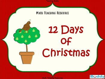 12 Days of Christmas - Music and Math (Counting Forwards a