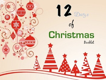 12 Days of Christmas Number Booklet