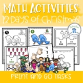 12 Days of Christmas Math Activity Pack