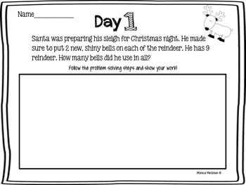 12 Days of Christmas Problem Solving