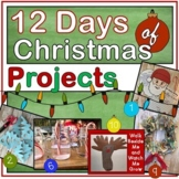 12 Days of Christmas Projects including a Reindeer Craft