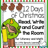 12 Days of Christmas: Read, Write and Count the Room (Lite