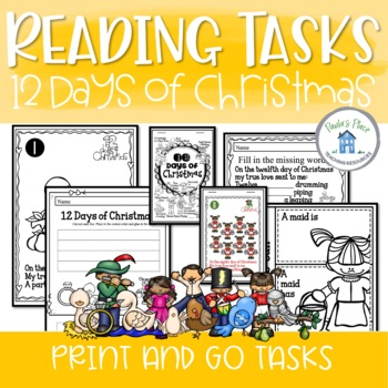 12 Days of Christmas Reading Pack