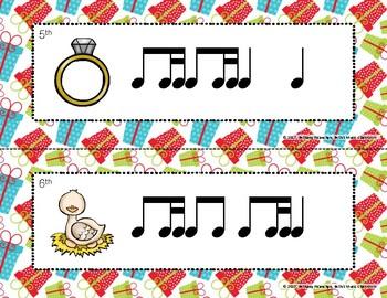 12 Days of Christmas - Rhythm Write the Room, Ti-tika
