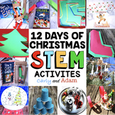 12 Days of Christmas STEM Challenges and Christmas STEM Activities Big Bundle