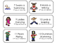 12 Days of Christmas Song and Counting Flashcards.