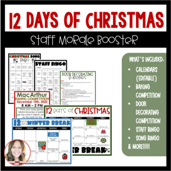12 Days of Christmas: Staff Morale Booster