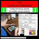 12 Days of Christmas for the classroom.