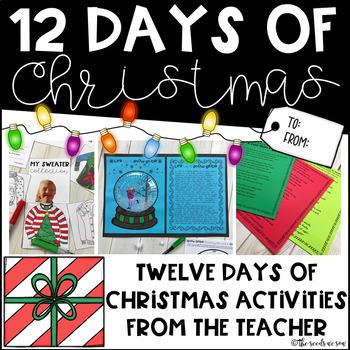 Twelve Days of Christmas from the Teacher