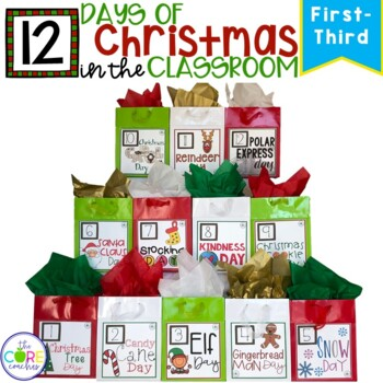 12 Days of Christmas Activities in the Classroom for Primary Grades