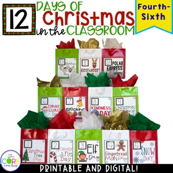 Christmas Activities 12 Day Countdown Christmas Crafts