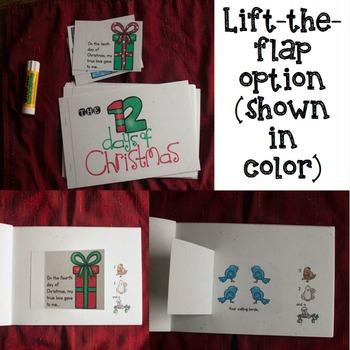 12 Days of Christmas mini book