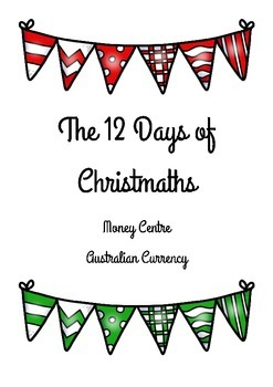 12 Days of Christmaths Counting Money