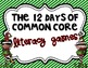 12 Days of Common Core Christmas Math and LIt BUNDLE