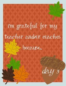 12 Days of Gratitude Challenge