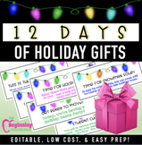12 Days of Holiday Gifts | The Best Christmas Gifts for Students!