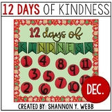 12 Days of KINDNESS Bulletin Board & Activity Kit