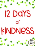 12 Days of Kindness - FOR STUDENTS