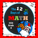 Christmas Math Packet - Grade 4 CCSS