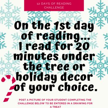 12 Days of Reading Social Media Challenge