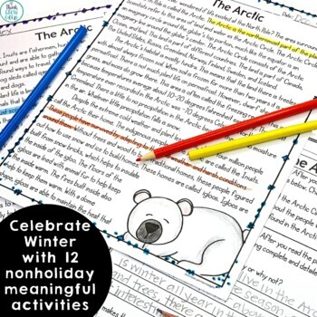 Winter Activities Nonfiction