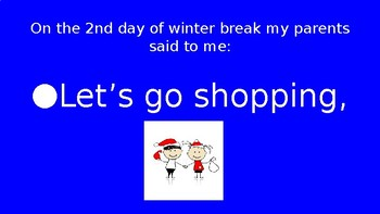 12 Days of Winter Break