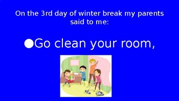 12 Days of Winter Break