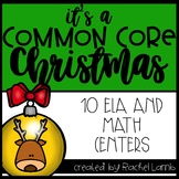 It's a Common Core Christmas!! Math and Literacy Centers for Grades 2-3