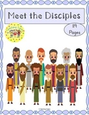 12 Disciples of Jesus Bible Activity Packet