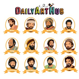 12 Disciples of Jesus Clip Art - Great for Art Class Projects!