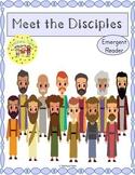 12 Disciples of Jesus Emergent Reader
