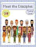 12 Disciples of Jesus Trading Cards