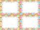 12 Editable Task Card Templates Gingerbread Houses 2 (Landscape) PowerPoint