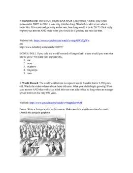 Blog Posts- math x ÷
