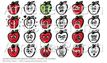 12 Emotions, apple