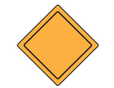 12 Empty Road Signs