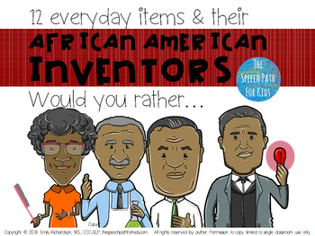 12 Everyday Inventions and their African American Inventors - Would You Rather