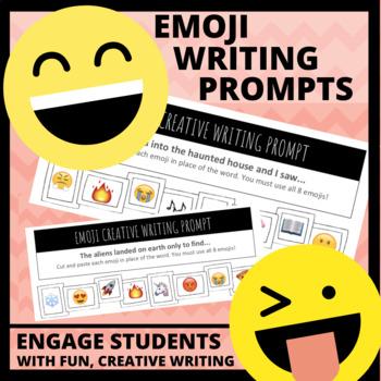 12 FREE Emoji Creative Writing Prompts