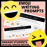 12 FREE Emoji Creative Writing Prompts
