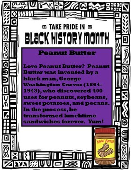 12 Facts About Black History Month You May Not Know - Poster Set
