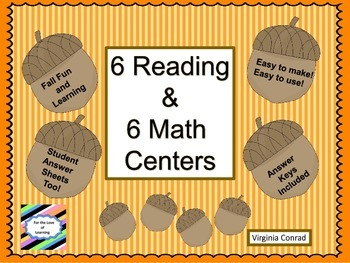 Fall Centers for Math and Reading