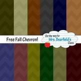 Digital Papers {Fall Chevron}