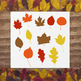 12 Fall Leaf Silhouettes Clipart, Autumn Leaves Clip Art, Leaf SVG Cut File, PNG