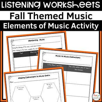 12 Fall Themed Listening Activities