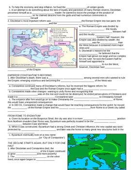 UNIT 2 LESSON 7. Fall of the Roman Empire GUIDED NOTES