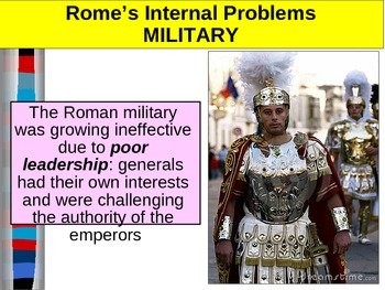 UNIT 2 LESSON 7. Fall of the Roman Empire POWERPOINT